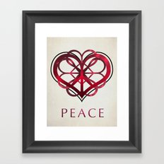 Peace Framed Art Print