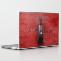 i woke up like this Laptop & iPad Skins featuring Flawless (I Woke Up Like This) by Pixels and Paper