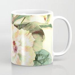 Tropical Botanical Yellow Coffee Mug