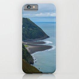 Lynmouth North Devon iPhone Case