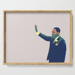 Martin Luther King Serving Tray