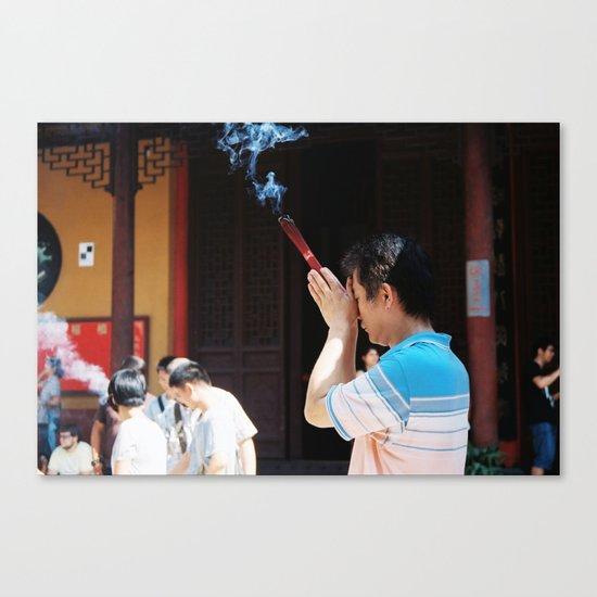 Jade Buddha Temple - Shanghai Canvas Print