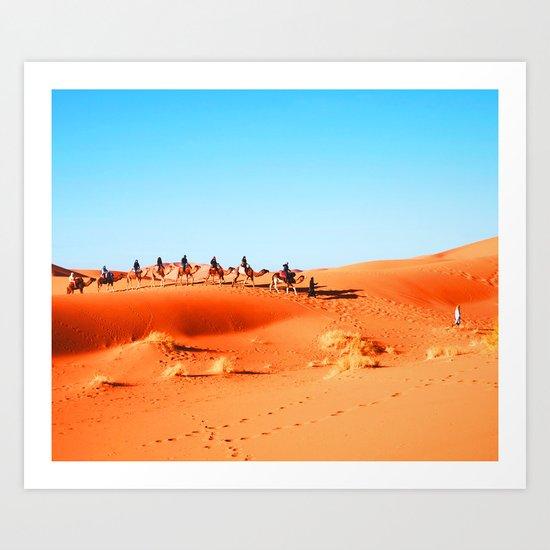 No Desert Heartbeats Art Print