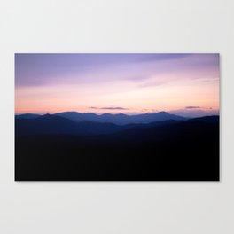 Sunrise Over the Smokys Canvas Print