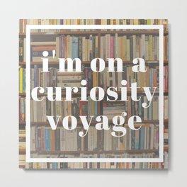Curiosity Voyage Metal Print