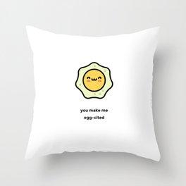 JUST A PUNNY EGG JOKE! Throw Pillow
