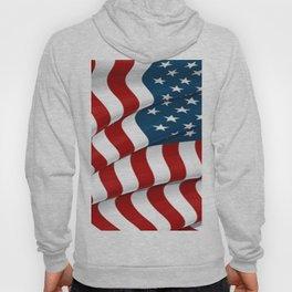WAVY AMERICAN FLAG JULY 4TH ART Hoody