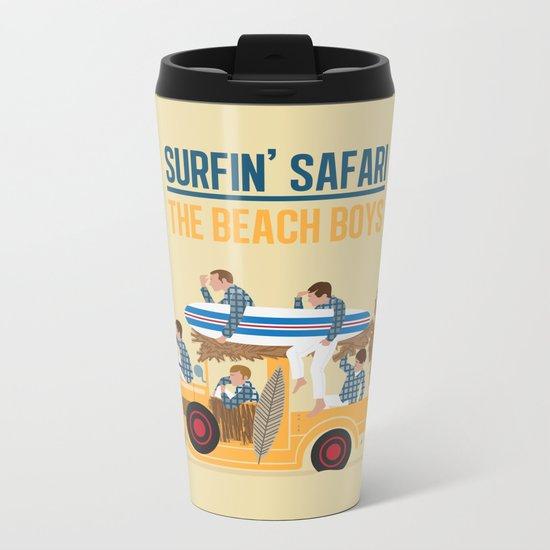 Surfin Safari Metal Travel Mug