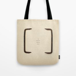 the Forgotten Workshop series- Railroad Sleeper Staple Tote Bag
