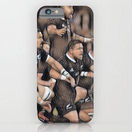 HAKA - NZ All Black's iPhone Case