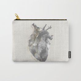 golden polygon heart Carry-All Pouch