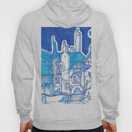 Blue Cottage Hoody