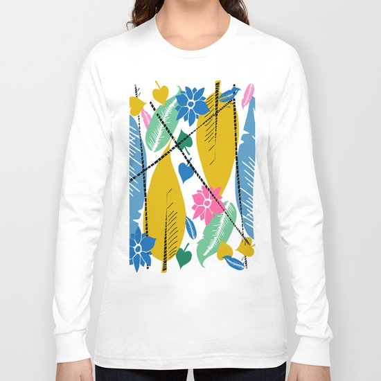 Feathers and leafs Long Sleeve T-shirt