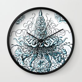 Siphonophorae Wall Clock