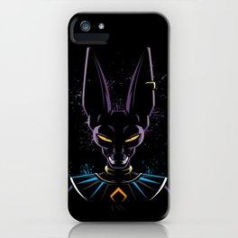 God of destruction iPhone Case