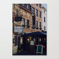 brussels Canvas Prints featuring Brussels by monography