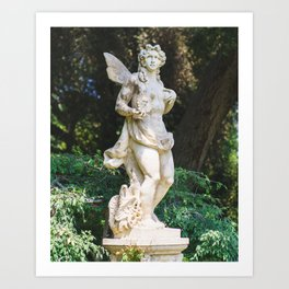 Huntington Library V Art Print