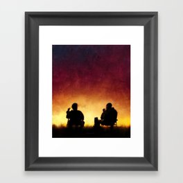 4 Days Out Framed Art Print