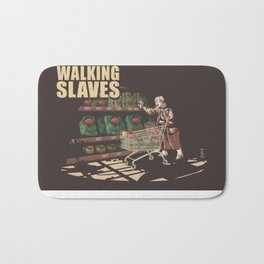 The Walking Slaves Bath Mat