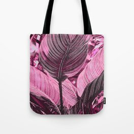 Alien Plant life pink Tote Bag