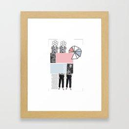 Spring Trend Framed Art Print