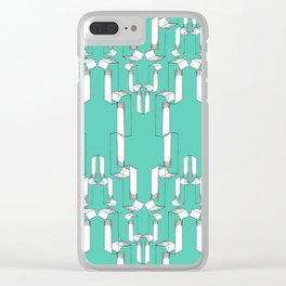 Number 1 - V2 Pencil Clear iPhone Case