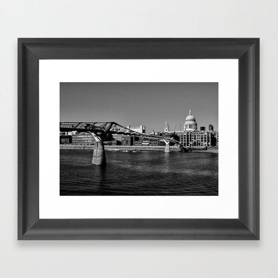 Views To St. Pauls Framed Art Print