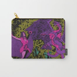 Other Worlds: The Lady and the Dragon Carry-All Pouch