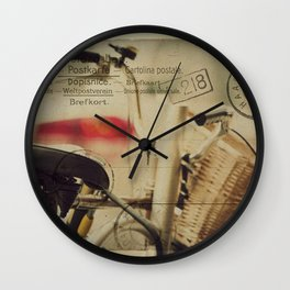 I just want to ride my bike today Wall Clock