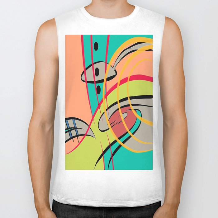 COLOR SPOON Biker Tank