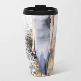 Ocean's Pulse Travel Mug