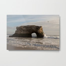 Santa Cruz Natural Bridges State Beach Metal Print