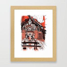 Sea of Red: Judgement Framed Art Print