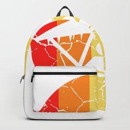 Hang Glider Symbol Hang Glider Or A Pilot Gift Backpack