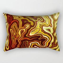 Abstract #1 - I Glow Rectangular Pillow
