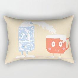 Milky Couple Rectangular Pillow