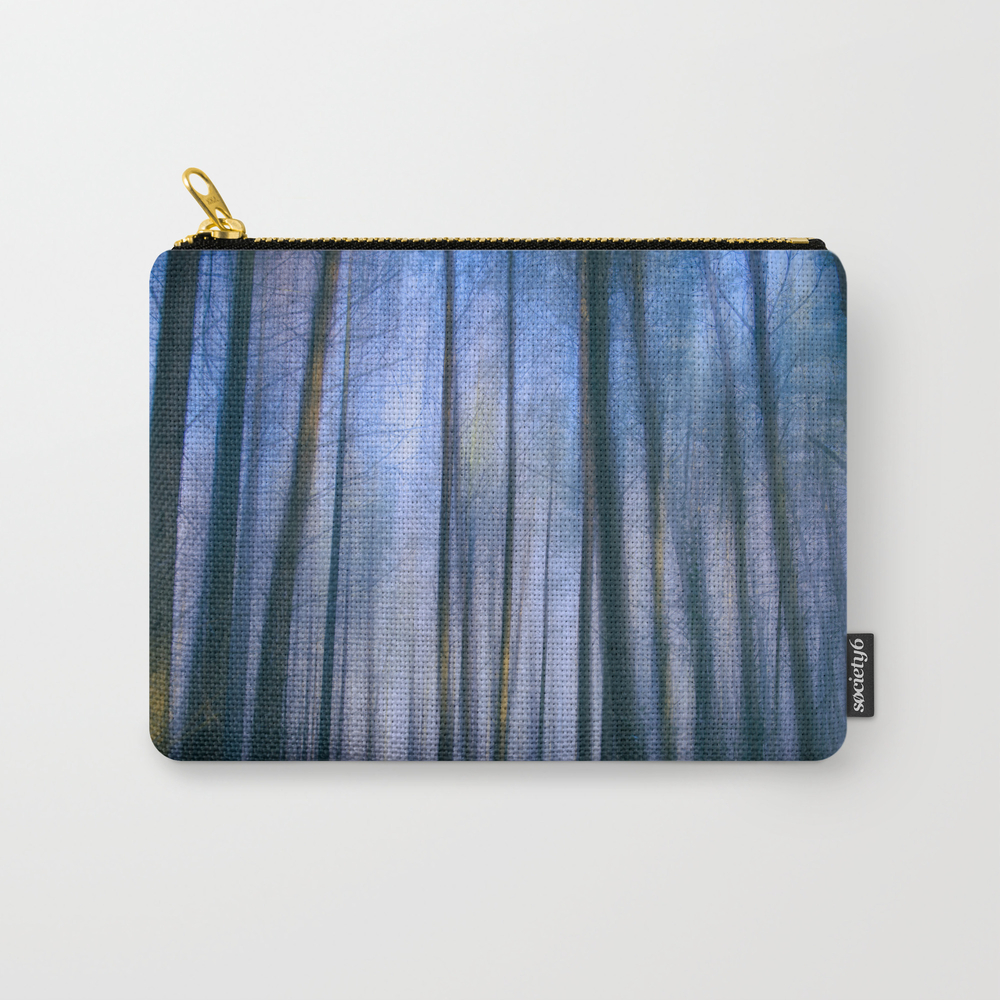 The Frosty Forest Ii Carry-all Pouch by Davidlichtneker CAP8405904