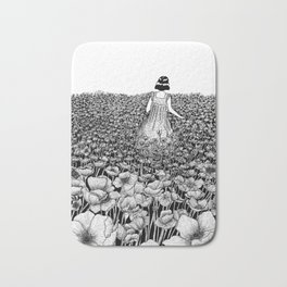 The Field of Poppies Bath Mat