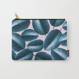 Rubber Plant Cure #society6 #decor #buyart Carry-All Pouch