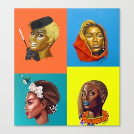 bey:INTERNATONAL Canvas Print