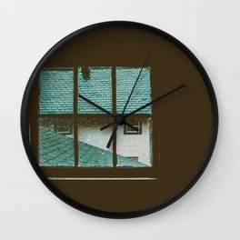 looking out Wall Clock