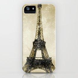 Paris Flea Market iPhone Case