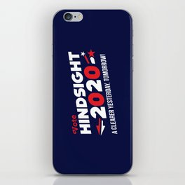 Hindsight 2020 iPhone Skin