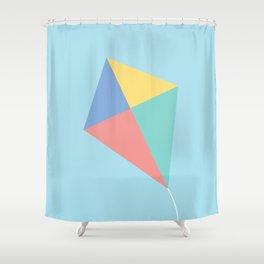 #73 Kite Shower Curtain