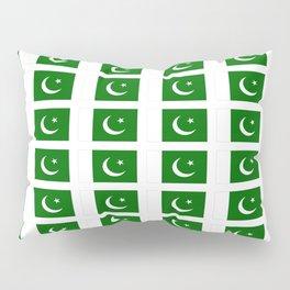 Flag of pakistan-پاکِستان ,pakistani, Karachi,Islamabad,lahore,persian. Pillow Sham