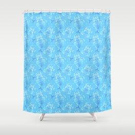 fleur de otachi - light Shower Curtain