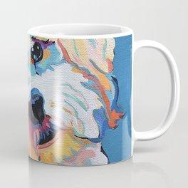 Maltipoo, Cavapoo, Cavachon, Cockerpoo, Mix Breed Custom Pop Art Pet Portrait Coffee Mug