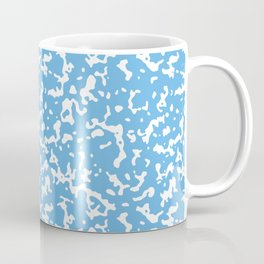 Blue and White Composition Notebook Coffee Mug
