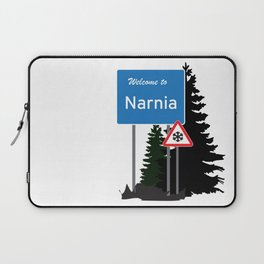 Narnia traffic Laptop Sleeve