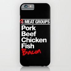 5 Major Meat Groups iPhone 6s Slim Case